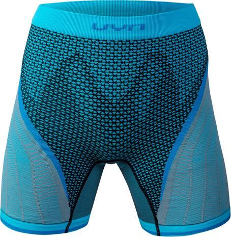 UYN Running Alpha OW Housut Shortsit Naiset, musta/turkoosi, Naisten housut ja shortsit
