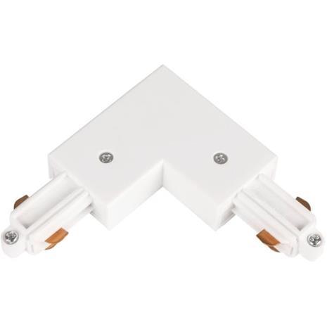 Hide-a-Lite LiteTrac L-liitäntä 1-vaiheinen, valkoinen Sisäinen