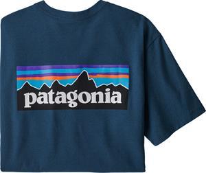 Patagonia P-6 Logo Responsibili-Tee Men, sininen