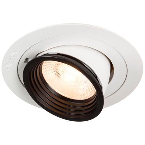 Hide-a-Lite Focus Point Maxi Downlight-valaisin 60°, 3000K Push 230V, DALI-liitäntälaitteella