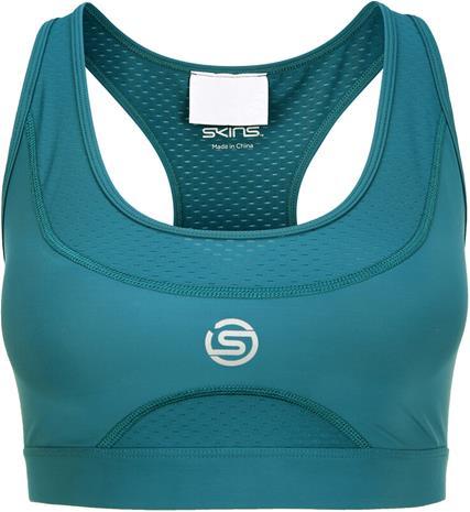 Skins Series-3 Elite Bra Women, petrooli, Naisten alus- ja yöasut, sukat sekä kylpytakit