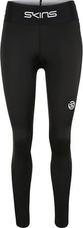Skins Series-1 Long Tights Women, musta, Naisten housut ja shortsit