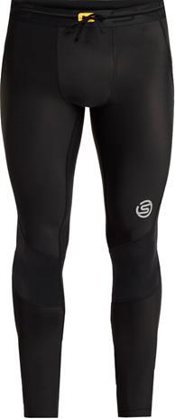 Skins Series-3 Long Tights Men, musta, Miesten housut ja shortsit