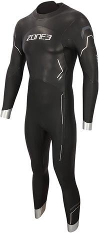Zone3 Agile Wetsuit Men, musta, Uintitarvikkeet