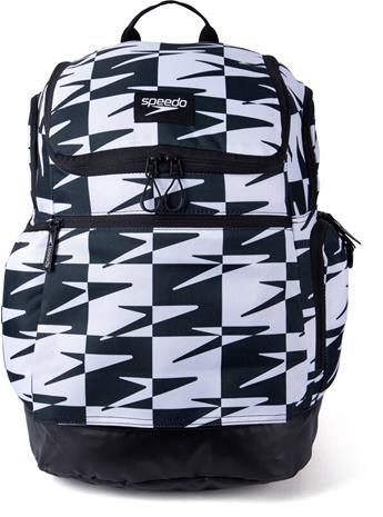 speedo Teamster 2.0 Backpack 35l, valkoinen/musta, Uintitarvikkeet