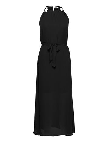 ONLY Onlalma Life Poly S/L Long Dress Solid 3 Dresses Party Dresses Musta ONLY BLACK