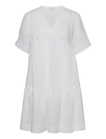 Andiata Adabella Linen Dress Dresses Everyday Dresses Valkoinen Andiata WHITE