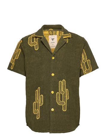 OAS Mezcal Terry Shirt Lyhythihainen Paita Vihreä OAS GREEN