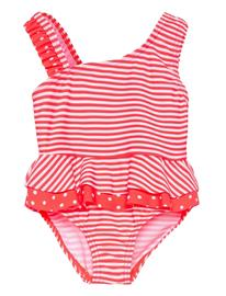 name it Nmfzanana Swimsuit Uimapuku Uima-asut Punainen Name It FIERY CORAL