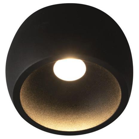 Hide-a-Lite Globe G2 Surface Downlight-valaisin musta 2700K