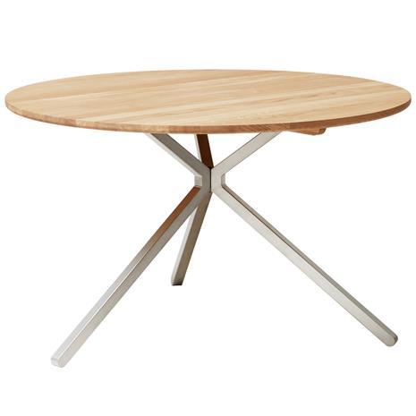Form & Refine Frisbee pöytä, 120 cm, vaalea tammi