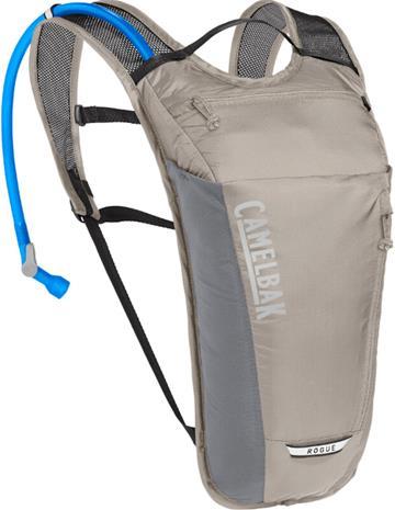 CamelBak Rogue Light Hydration Backpack 5l+2l, harmaa/hopea, Rinkat ja reput