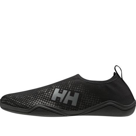 Helly Hansen Crest Watermoc Slip-On Shoes Men, musta, Uintitarvikkeet