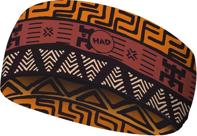 HAD Coolmax Eco HADband Otsanauha, oranssi/ruskea, Miesten hatut, huivit ja asusteet
