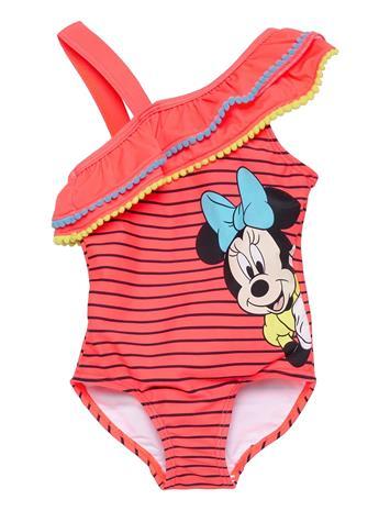 name it Nmfminnie Monja Swimsuit Wdi Uimapuku Uima-asut Punainen Name It FIERY CORAL