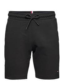 Tommy Sport Stripe Doubleknit Short Shorts Casual Musta Tommy Sport BLACK