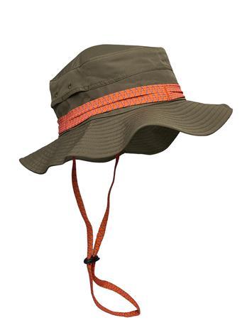 Peak Performance Safari Hat Accessories Headwear Bucket Hats Vihreä Peak Performance BLACK OLIVE