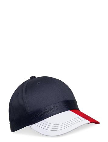 Tommy Hilfiger Seasonal Corporate Cap Accessories Headwear Caps Sininen Tommy Hilfiger CORPORATE