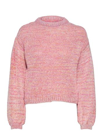 ONLY Onlgenny L/S Pullover Ex Knt Neulepaita Vaaleanpunainen ONLY BLUSH