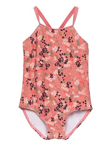 name it Nmfziflower Swimsuit Uimapuku Uima-asut Vaaleanpunainen Name It DUSTY ROSE