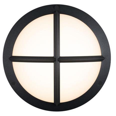 Hide-a-Lite Moon Public Cross I Seinävalaisin 3000/4000K, 16W, IP65, IK10 Antrasiitti, 1070 lm