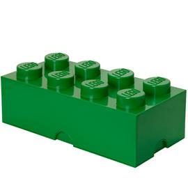 Room Copenhagen Lego Storage Brick 8 säilytyslaatikko, vihreä