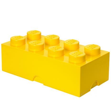 Room Copenhagen Lego Storage Brick 8 säilytyslaatikko, keltainen