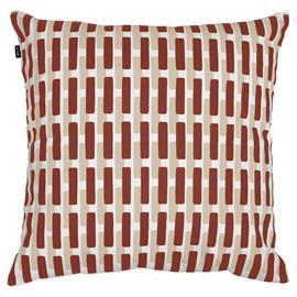 Artek Siena tyynynpäällinen, 50 x 50 cm, tiilenpunainen - hiekanruskea