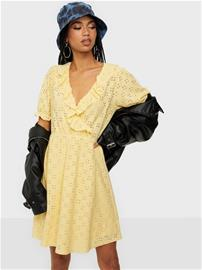 Vila Vitressy S/S Wrap Dress/Su Sunlight