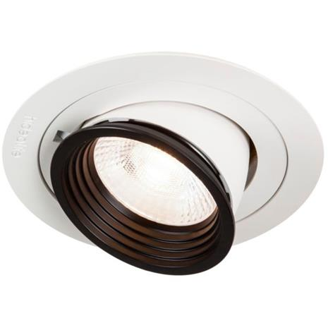 Hide-a-Lite Focus Point Giga Downlight-valaisin 36°, 4000K OnOff, kaapelitelineellä