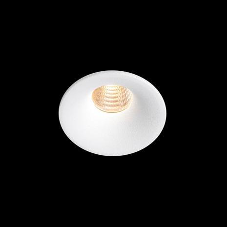 Hide-a-Lite Optic Deep XS Downlight-valaisin valkoinen, 230 lm 2700K