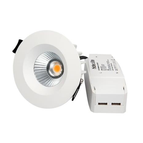 Hide-a-Lite Optic Downlight-valaisin 7.5W, valkoinen 3000K