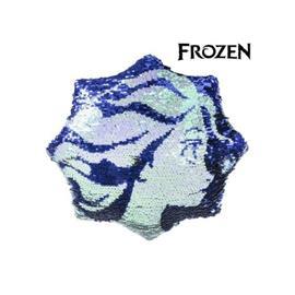 Disney Frozen, paljettityyny 30 x 30 cm