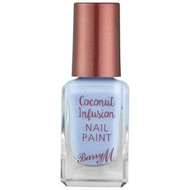 Barry M Cosmetics Coconut Infusion Nail Paint (Various Shades) - Laguna, Meikit, kosmetiikka ja ihonhoito