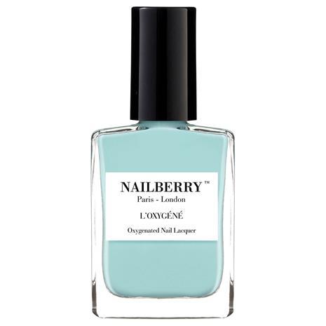 Nailberry L'Oxygene Nail Lacquer -kynsilakka, Baby Blue, Meikit, kosmetiikka ja ihonhoito