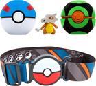 Pokémon Clip 'N Go Belt Set Great Ball, Dusk Ball + Cubone