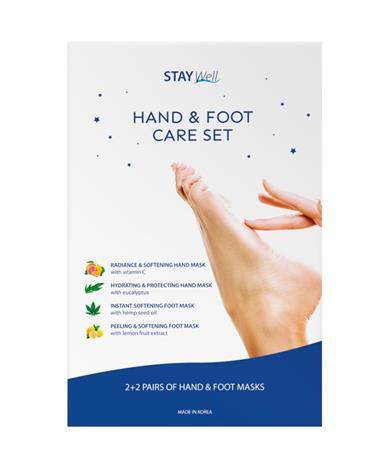 Stay Well Käsi- ja jalkahoitosetti