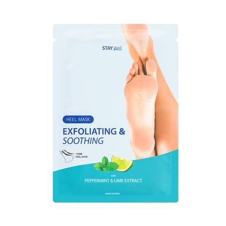 Stay Well Exfoliating & Soothing Heel Mask 18 g