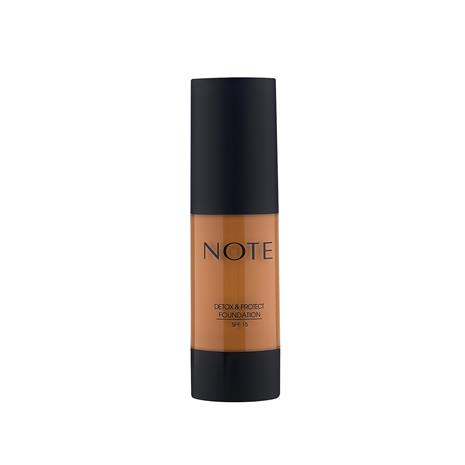 Note Cosmetics Detox and Protect Foundation 35ml (Various Shades) - 117 Almond