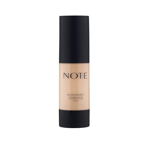 Note Cosmetics Detox and Protect Foundation 35ml (Various Shades) - 01 Beige