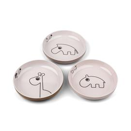 Done By Deer Lautanen Mini Deer Friends 3-pack, Powder