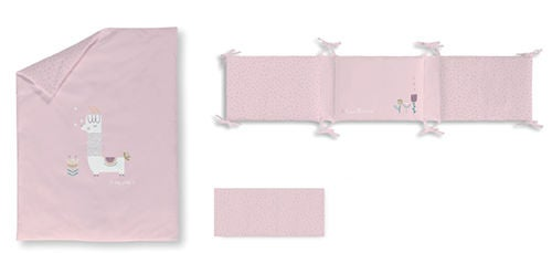 BimbiCasual Reunapehmuste ja Tyynyliina, Purple