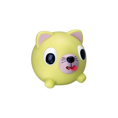 JABBER BALL Yellow Cat - vinkuva lelu, 0393