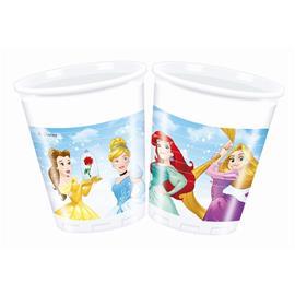 Disney Princess Muovimukit 200ml, 8kpl, 87877