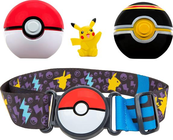Pokémon Clip 'N Go Belt Set Luxury Ball + Pikachu