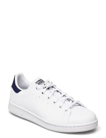 adidas Originals Stan Smith J Matalavartiset Sneakerit Tennarit Valkoinen Adidas Originals FTWWHT/FTWWHT/DKBLUE