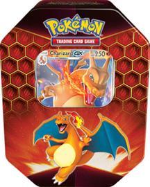Pokemon SM11.5 Hidden Fates Tin Charizard GX