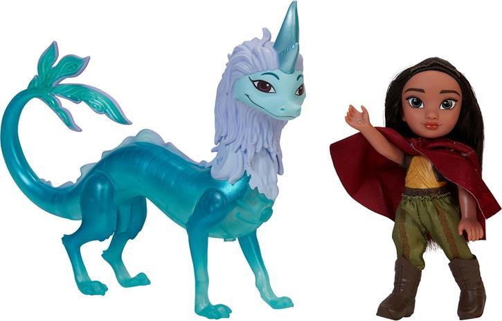 Disney Raya Nukke ja Lohikäärme Sisu