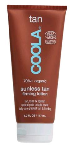 Coola - Sunless Tan Firming Lotion - 177 ml