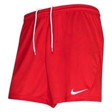 Nike Shortsit Dry Park III - Punainen/Valkoinen Nainen